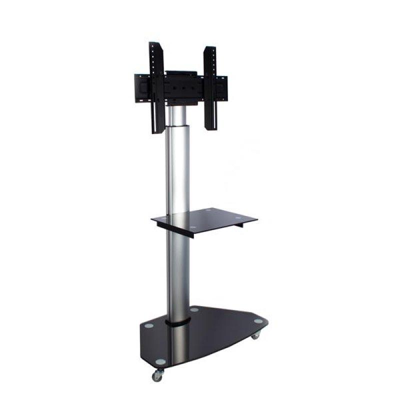 tv st nder fahrbar f r monitore 37 70 xantron toplin. Black Bedroom Furniture Sets. Home Design Ideas