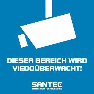 Santec Sticker Santec Vg 5 Stück Aufkleber Vorglas