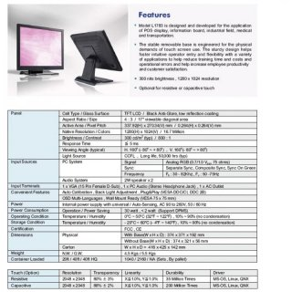 17 Touchscreen Monitor